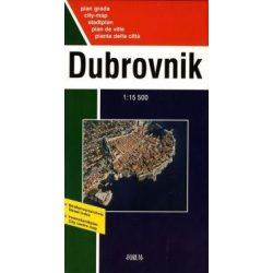 Dubrovnik térkép Forum 1:12 000