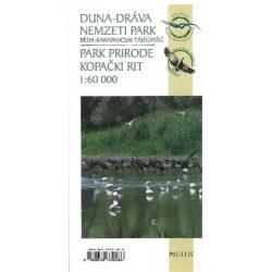 Duna-Dráva Nemzeti Park, Béda-karapancsai tájegység térkép Paulus 1:60 000