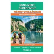 Duna menti kerékpárút Németországban térkép+könyv Frigória, Németország kerékpáros térkép