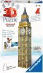 Big Ben puzzle, fa - 24 db-os 3D puzzle Educa - kis méret