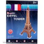 3D Puzzle Eiffel torony 14 x 14 x 34 cm - kis méret