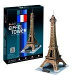 3D Puzzle Eiffel torony 20,5 x 23 x 47 cm - nagy méret