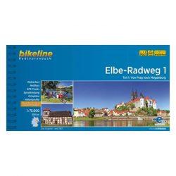 1. Elba Radweg kerékpáros atlasz Esterbauer 1:75 000  Elba kerékpáros térkép