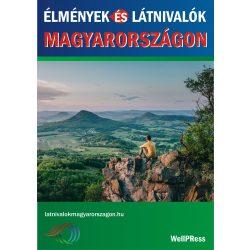 Élmények és látnivalók Magyarországon útikönyv Well-Press kiadó Vendégváró Magyarország könyv magyar nyelven 2019