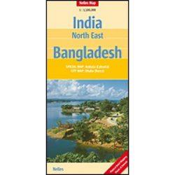 Észak-Kelet India térkép Nelles 2012 1:1 500 000