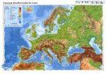 Európa domborzata és vizei iskolai lap Stiefel A/4