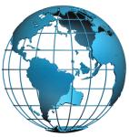 Európa irányítószámos falitérkép könyöklő  66 x 45 cm