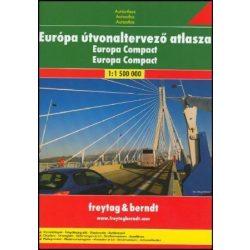 Euró City Planer atlasz Freytag & Berndt 1:3 500 000
