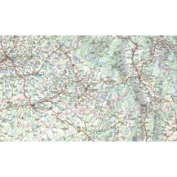 Erdély falitérkép fóliázott Dimap 120x86 cm
