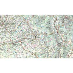 Erdély falitérkép Dimap-Szarvas 120x86 cm