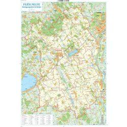 Fejér megye térkép Szarvas 2007 1:110 000