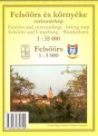Felsőörs térkép Schwarcz 1:5 000, 1:35 000