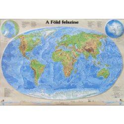 A Föld felszíne falitérkép Nyír-Karta  120 x80 cm
