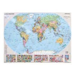 Gyermek világtérkép falitérkép, könyöklő Stiefel gyerektérkép   65x45 cm