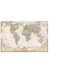 Világ országai antikolt falitérkép National Geographic   107x72