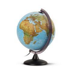 Világító földgömb 25 cm, duó, kétfunkciós, magyar nyelvű világítós gömb