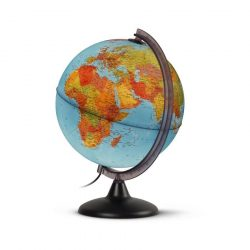 Világító földgömb 25 cm-es, duó kétfunkciós, magyar nyelvű