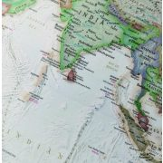 Világító földgömb 30 cm National Geographic  antik színű