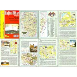 Hajdú-Bihar megye atlasz HiSzi Map
