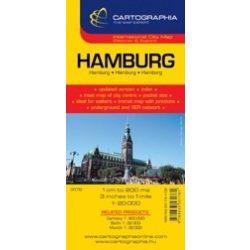 Hamburg térkép Cartographia 1:20 000