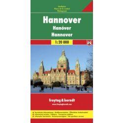 Hannover térkép Freytag 1:20 000