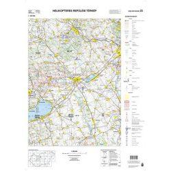 Magyarország helikopteres térképe 1:200 000
