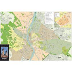 Holocaust Magyarország és Budapest (1944 és 2014) térképek 2015