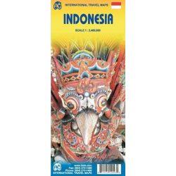Indonézia térkép ITM 1:2 400 000