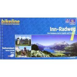 1. Inn Radweg kerékpáros atlasz Esterbauer 1:50 000  Inn kerékpáros térkép