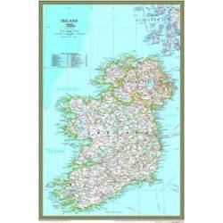 Írország falitérkép Freytag 110x98 cm
