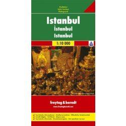 Isztambul térkép Freytag & Berndt 1:10 000  2012