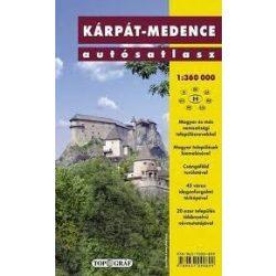 Kárpát-medence atlasz Nyír-Karta  2010 1:360 000