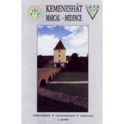 Kemeneshát turista térkép MTSZ 1995 1:40 000