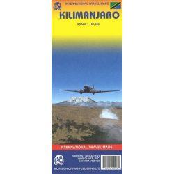 Kilimanjaro turista térkép ITM 1:62 500