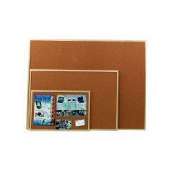 Parafa tábla 40x60 cm fakeretes parafatábla 60x40 cm fa kerettel