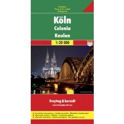 Köln térkép Freytag 1:20 000