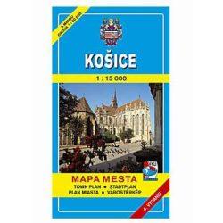 Kassa térkép VKÚ 1:15 000