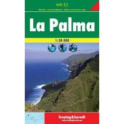 WKE 2 La Palma turistatérkép 1:30 000