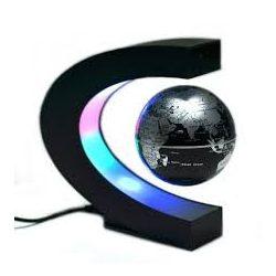 Mágneses lebegő földgömb 8,5 cm patkó alakú