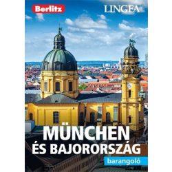München és Bajorország útikönyv Lingea-Berlitz Barangoló 2019 München útikönyv