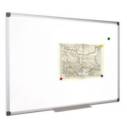 Mágnestábla 100x100 cm aluminium kerettel, alukeretes törölhető mágneses tábla