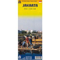 Jakarta térkép ITM 1:21 000,1:75 00