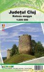 Kolozs megye térkép Micro Mapper 1:200 000