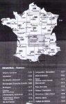 Michelin áttekintő térkép - Franciaország régiói  1:200 000