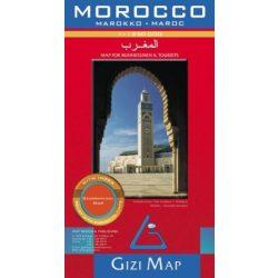 Marokkó térkép Gizi Map 1:1 250 000