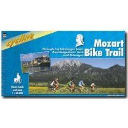 Mozart Bike Trail kerékpáros atlasz Esterbauer 1:50 000  Mozart kerékpáros térkép