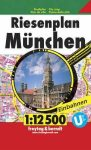 München atlasz Freytag 1:12 500
