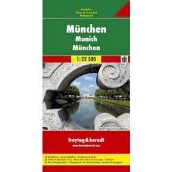 München térkép Freytag 1:22 500