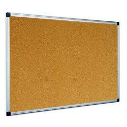 Parafatábla 120x180 cm aluminium kerettel, alukeretes parafa tábla 180x120 cm