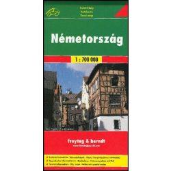 Németország térkép Freytag 1:700 000